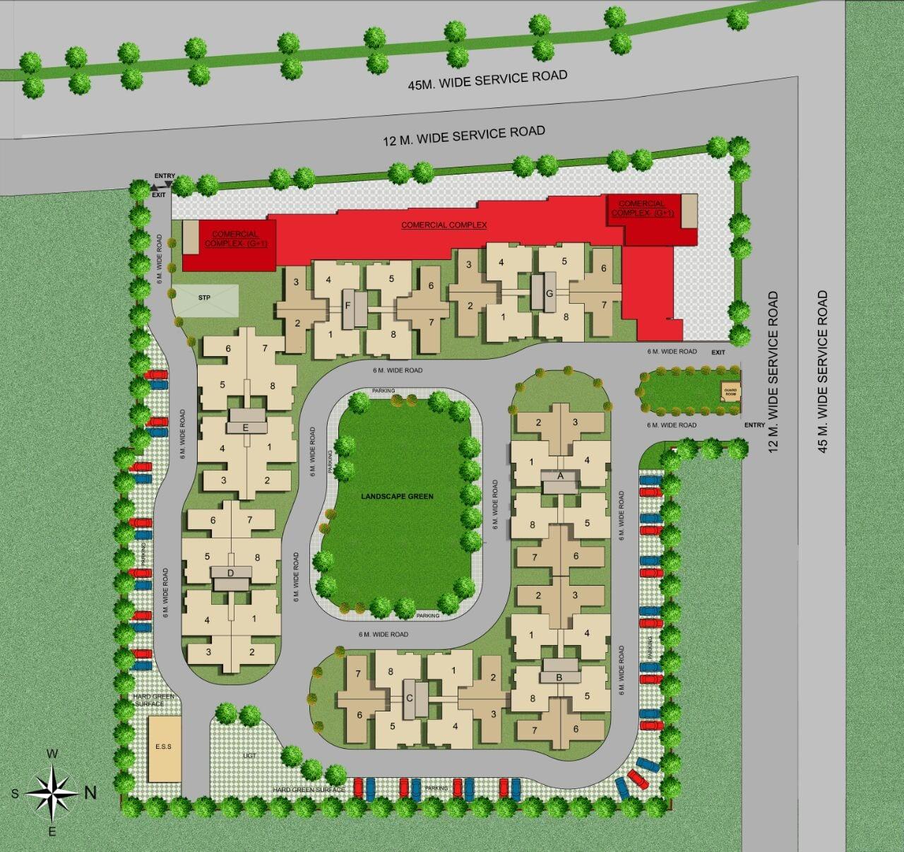 plots in sector 75 Faridabad